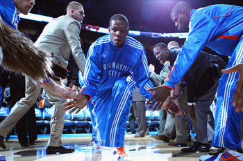 Can Kevin Durant lead the Thunder to their first Western Conference Finals appearance?