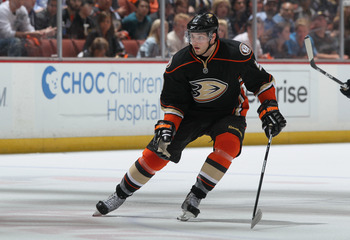 ANAHEIM, CA - APRIL 15:  Bobby Ryan #9 of the Anaheim Ducks skates against the Nashville Predators in Game Two of the Western Conference Quarterfinals during the 2011 NHL Stanley Cup Playoffs at Honda Center on April 15, 2011 in Anaheim, California.  (Pho