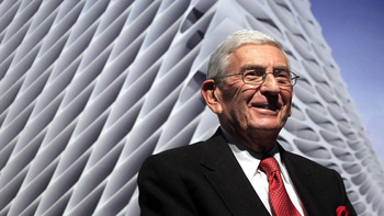 Eli Broad. Photo Credit: The Associated Press