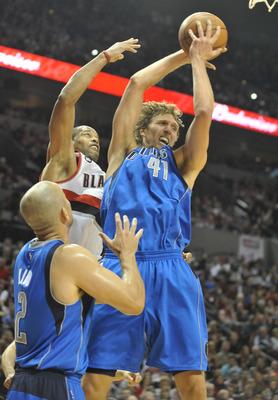 "Kidd & Dirk have that ""refuse to lose"" look in their eyes..."