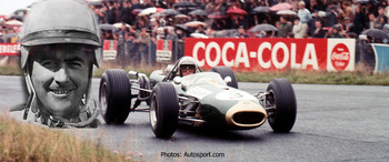 Jack Brabham first drove for Cooper then created Brabham F1 cars