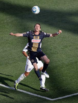 Sebastien Le Toux scored the winning goal on a late penalty kick