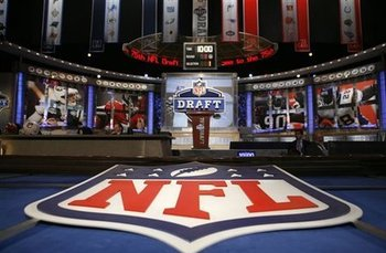 NFL Draft Headquarters at Radio City Music Hall in NYC