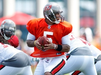 Tampa Bay QB, Josh Freeman will have an easier time finding a target.