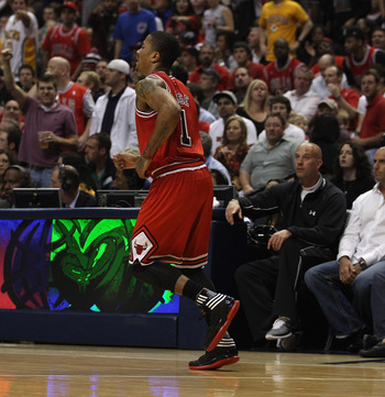 Derrick Rose Ankle Injury