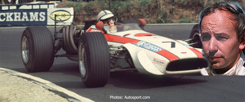 Surtees earned a podium finish in his 2nd race and a pole in his 3rd.