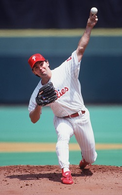 Terry Mulholland, a 20-year veteran, pitched almost 2,600 innings in his career.