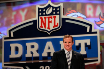 With the draft in the rear-view mirror, Roger Goodell now needs to focus on ending the lockout. Rookies need a game to play, after all.