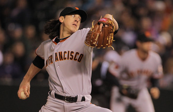 Tim Lincecum anchors the best pitching staff in baseball