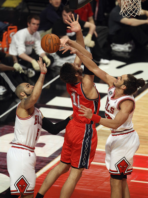 Can Atlanta keep Boozer and Noah off the offensive glass?