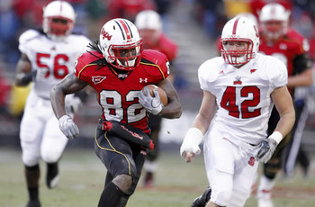 (#82) WR Torrey Smith, University of Maryland