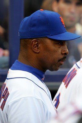 NEW YORK - SEPTEMBER 30:  Manager Willie Randolph of the New York Mets looks on in the dugout during the game against the Florida Marlins at Shea Stadium September 30, 2007 in the Flushing neighborhood of the Queens borough of New York City. The Marlins d