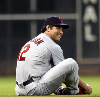 Lance Berkman has a lot to be smiling about so far this season.