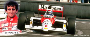 Alain Prost ... 'Le Professeur'