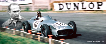 "Juan Manuel Fangio ... ""Il Maestro"""