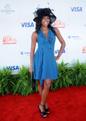 LOUISVILLE, KY - MAY 3: Gabrielle Union attends the 134th running of the Kentucky Derby at Churchill Downs on May 3, 2008 in Louisville, Kentucky. (Photo by Jeff Gentner/Getty Images)