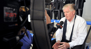 Leafs General Manager Brian Burke