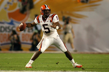 (#5) QB Tyrod Taylor, Virginia Tech