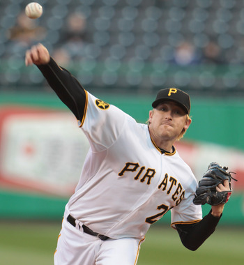 Kevin Correia, the new Pirate workhorse starter.