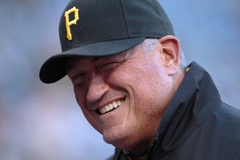 Clint Hurdle, hoping to give Pirate fans much to smile about this season.