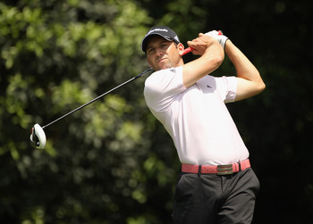CHENGDU, CHINA - APRIL 23:  Sergio Garcia of Spain in action during day three of the Volvo China Open at Luxehills Country Club on April 23, 2011 in Chengdu, China.  (Photo by Ian Walton/Getty Images)