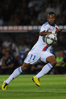 LYON, FRANCE - AUGUST 07:  Michel Fernandes Bastos of Olympique Lyonnais in action during the Ligue 1 match between Olympique Lyonnais and AS Monaco FC at Gerland Stadium on August 7, 2010 in Lyon, France.  (Photo by Valerio Pennicino/Getty Images)