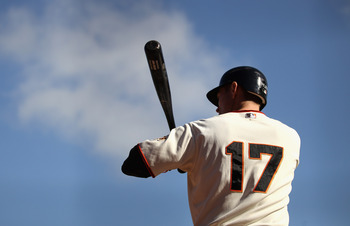 Aubrey Huff is off to a slow start, but there's reason to believe he'll be okay