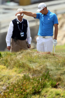 Dustin Johnson at the 2010 U.S. Open