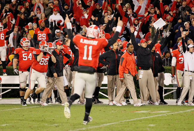 College Football Predictions 2011: Ranking Georgia's 10 ...
