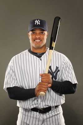TAMPA, FL - FEBRUARY 23:  Robinson Cano #24 of the New York Yankees poses for a portrait on Photo Day at George M. Steinbrenner Field on February 23, 2011 in Tampa, Florida.  (Photo by Al Bello/Getty Images)