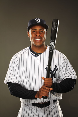 TAMPA, FL - FEBRUARY 23:  Curtis Granderson #14 of the New York Yankees poses for a portrait on Photo Day at George M. Steinbrenner Field on February 23, 2011 in Tampa, Florida.  (Photo by Al Bello/Getty Images)