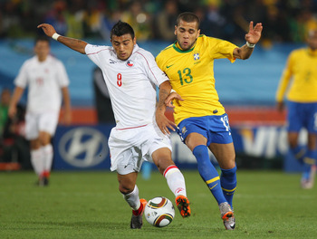 Vidal (Chile) and Alves (Brazil)