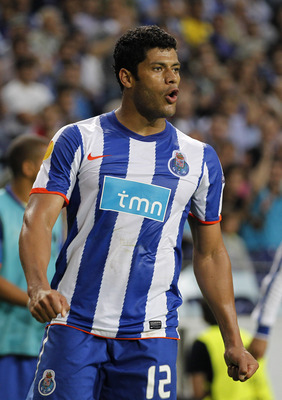 PORTO, PORTUGAL - APRIL 28:  Givalnildo Vieira 'Hulk' of FC Porto reacts during the UEFA Europa League semi final first leg match between FC Porto and Villarreal at Estadio do Dragao on April 28, 2011 in Porto, Portugal.  (Photo by Angel Martinez/Getty Im