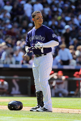 Carlos Gonzalez is hitting just .245 with 2 homers so far this season