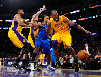 Thus far, Kobe has been the only consistent Laker
