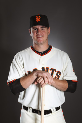 SCOTTSDALE, AZ - FEBRUARY 23:  Tommy Joseph #81 of the San Francisco Giants poses for a portrait during media photo day at Scottsdale Stadium on February 23, 2011 in Scottsdale, Arizona.  (Photo by Ezra Shaw/Getty Images)