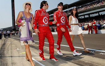 The Ganassi duo of Franchitti and Dixon