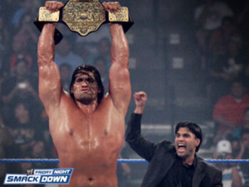 Image result for the great kahli world heavyweight champion