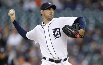 Justin Verlander tossed the seventh no-hitter in Detroit Tiger history on Saturday.