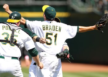 Dallas Braden threw a perfect game on Mother's Day in 2010.