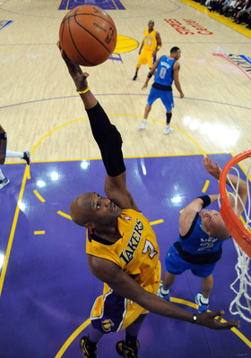 Lamar Odom needs to play like a man posessed if his Lakers are going to survive.
