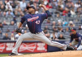 Francisco Liriano threw the first no-hitter of 2011.