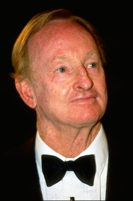 2 Jun 1998:  Portrait of Rod Laver of Australia, the last man to do the Grand Slam, at the French Open at Roland Garros in Paris. \ Mandatory Credit: Clive Brunskill /Allsport