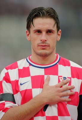 15 Aug 2001:  Portrait of Bosko Balaban of Croatia prior to the FIFA 2002 World Cup Qualifier between Republic of Ireland and Croatia played at Lansdowne Road in Dublin, Ireland.  The match ended ina 2 - 2 draw. \ Mandatory Credit: Jamie McDonald /Allspor