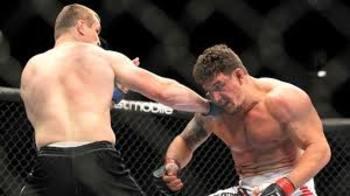 Mir fights Mirko Cro Cop at UFC 119 last September.