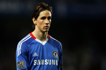 LONDON, ENGLAND - APRIL 20:  Fernando Torres of Chelsea looks on during the Barclays Premier League match between Chelsea and Birmingham City at Stamford Bridge on April 20, 2011 in London, England.  (Photo by Julian Finney/Getty Images)