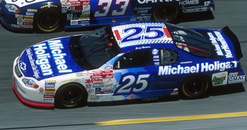 20 Feb 2000:  Jerry Nadeau #25 races in the Daytona 500 at Daytona International Speedway in Daytona Beach, Florida. Mandatory Credit: Jamie Squire/ALLSPORT
