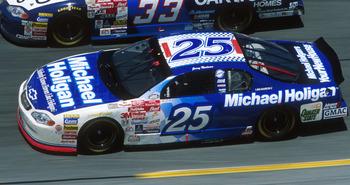 20 Feb 2000:  Jerry Nadeau #25 races in the Daytona 500 at Daytona International Speedway in Daytona Beach, Florida. Mandatory Credit: Jamie Squire/ALLSPORT