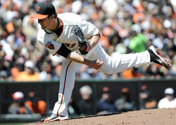 Ryan Vogelsong held the Rockies hitless through the first five innings en route to a 3-0 win over Colorado