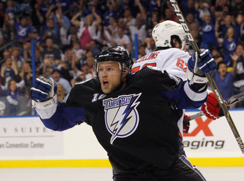 Tampa will be looking for their surprise playoff goal scoring leader to keep up the pace.